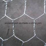 浸る熱いの六角形ワイヤー網編むことの後で電流を通されて