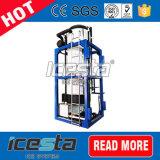 Einfaches Geschäfts-kleiner Eis-Gefäß-Hersteller für das Eis, das 1t/24hrs verkauft