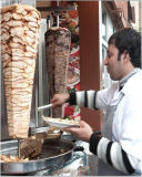 Gaz Shawarma de l'acier inoxydable Sc-X206c-3 (réglable)