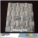 Natürliches Travertin-/Marmorsteinmosaik für Badezimmer-Wand, Fußboden-Fliesen