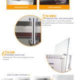Rotisserie électrique d'acier inoxydable avec quatre paniers