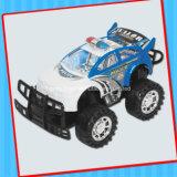 Het kleine Stuk speelgoed van de Politiewagen van het Stuk speelgoed van de Auto met Suikergoed