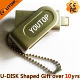 De Aandrijving van de Flits OTG USB voor Telefoon USB2.0/USB3.0 PromotieGift