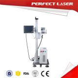 Machines en ligne d'inscription de laser de fibre sur le module et le câble de nourriture