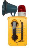 De Waterdichte Telefoon van VoIP, Telefoon van het Protocol van het SLOKJE de Waterdichte en Stofdichte