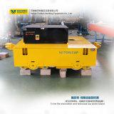 Transportador elétrico material pesado do carro de transferência que funciona no trilho