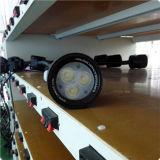 lumière de col de cygne de l'éclairage DEL de commande numérique par ordinateur de la lumière DEL de machine de DEL anodisée par 5W