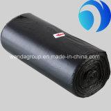 ロールの黒いプラスチックPEの屑のごみ袋
