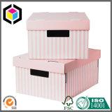 Rectángulo de almacenaje a todo color grande del embalaje del papel de la cartulina/rectángulo móvil