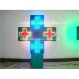 P16 Outdoor Advertising LED Apotheek Cross Double Side