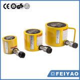 Cilindro idraulico di altezza ridotta a semplice effetto del martinetto idraulico degli strumenti idraulici