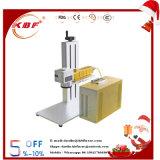 Borne portative de laser de fibre en métal de code de Qr petite pour le matériel en métal