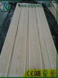 Controllo di qualità di legno naturale dell'impiallacciatura, quercia bianca per le schede, mobilia di cc