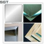 vidrio de plata del espejo de 4-19m m para el uso del cuarto de baño