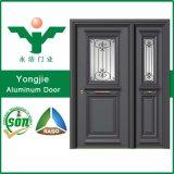 Porte extérieure d'aluminium de garantie de Chinois