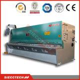 Ножницы гильотины металлического листа QC12k 8*4000 гидровлические, машина гильотины листа металла CNC режа