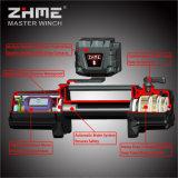 argano elettrico di potere di CC 12V di tiro 12000lbs con la corda sintetica per il camion