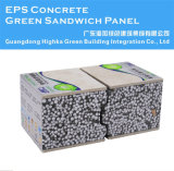 El panel de pared concreto de emparedado de la espuma del EPS para la casa prefabricada