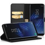voor het Geval van de Telefoon van het Leer van de Portefeuille van de Melkweg van Samsung S8