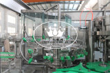 Monoblock 3 in 1 macchina di rifornimento gassosa della bevanda della bottiglia di vetro con la protezione di alluminio