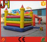 Castillo animoso inflable, gorila combinada de la diapositiva inflable para la venta