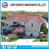 Telha de telhado romana do metal revestido fácil da pedra do material de construção da construção