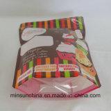 Пластичный мешок застежки -молнии PE для упаковывая сахара и еды