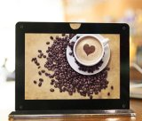 Рекламировать для кофейни с функцией крена силы