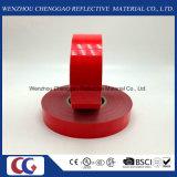 단단한 빨간 애완 동물 다이아몬드 급료 사려깊은 테이프 (C5700-OR)