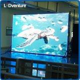 Grand panneau polychrome d'intérieur de DEL pour des supports publicitaires