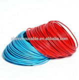 Arame Isolado de PVC Solid Core Copper Core