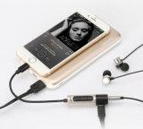Adaptador del relámpago para 2 audios y de cargas de 3.5m m en 1 para el iPhone 7