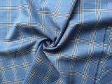 Wolle-Woolen Check-Kammgarngewebe
