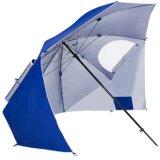 Guarda-chuva portátil da barraca do dossel do parque do abrigo do guarda-chuva de Sun da praia com pregos à terra
