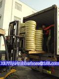 Mangueira de borracha hidráulica flexível do petróleo de alta pressão espiral com SAE100r4
