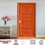 Modèle en bois intérieur de porte de contre-plaqué occidental de type (GSP6-008)