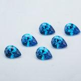 Hotsale Cubic Zirconia Blue AAA Forme de Poire Aquamarine Zircon