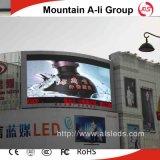 Montagna ali che fa pubblicità al segno della visualizzazione di LED del tabellone per le affissioni P10 RGB Outoor