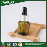 бутылка капельницы зеленого стекла 15ml 0.5oz прованская с кольцом металла