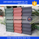 металла камня 1300X420X0.4mm плитки листа крыши/толя Corrugated алюминиевого Coated римские