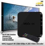 Red de alta definición HDTV Televisión 4k WiFi Android TV Box MXQ-4k