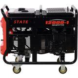 gerador elétrico profissional da gasolina do começo 9500W