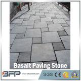 G684景色の庭の正方形のプロジェクトのための黒い玄武岩の立方体または玉石の敷石