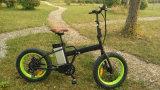 Enが付いている500W 20*4.0のインチの脂肪質のタイヤの電気折るバイク