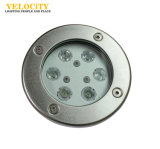 Cer Approved, Underwater Lighting 12V/24V 6W Edelstahl RGB-IP68 LED Pool Light