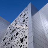 Aluminum perforé Panel pour Curtain Wall/Wall Cladding/Facade Decoration