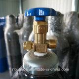 precio barato de acero del cilindro/del tanque de oxígeno de la fábrica de 40L China