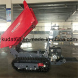 800kgs 4WD Mini Crawler Dumper mit Gasoline Engine (KD800S)
