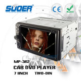 Suoer 2 de Speler van de Auto DVD van DIN met Bluetooth de Universele Speler van de Auto DVD (mp-362)