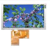 Visualización del módulo del `800*480 LCD de TFT 5.0 con el panel de tacto